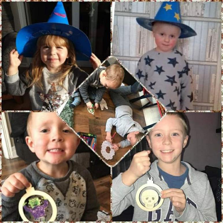 Collage of Four Children