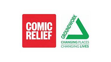 Comic Relief Groundwork Logo