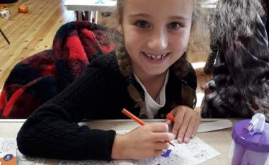 Craft Club Young Girl Colouring